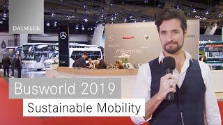 DaimlerBuses|Busworld2019|DienachhaltigeZukunftderMobilität