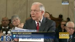Sessions Pledged Loyalty To The Constitution, Rule Of Law And Equal Justice