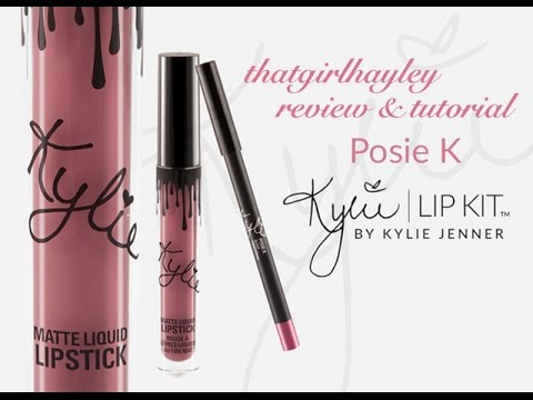Kylie Cosmetics Posie K Lipkit Review |...