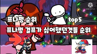 프나펑 걸프가 싫어했던것들 순위 TOP 5 (재업)