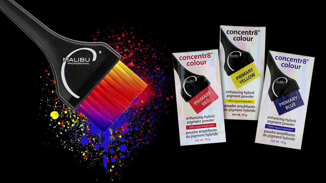 Malibu C Launch Concentr8 Colour Pigments - Styleicons
