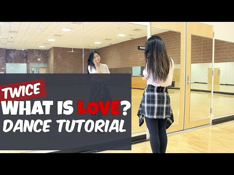 "TWICE(트와이스) ""What Is Love?"" Lisa Rhee Dance Tutorial"