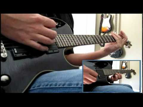 Skillet - Hero guitar cover WITH TABS