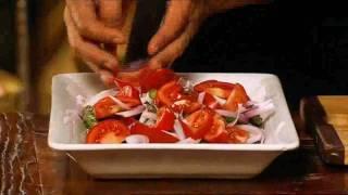 J.l. Kraft Recipes With James Reeson - Asparagus, Tomato & Haloumi Salad