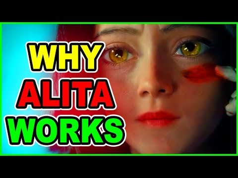 Hollywood DID Live Action Anime RIGHT! ALITA Battle Angel Alita Movie Review | Live Action Anime