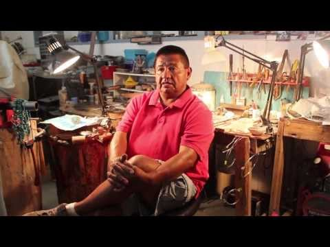 Introduction To George Francis Native American Jewely Navajo Silversmith