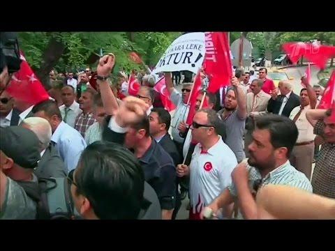После решения Бундестага признать геноцид армян, в Турции напали на здание дипмиссии.