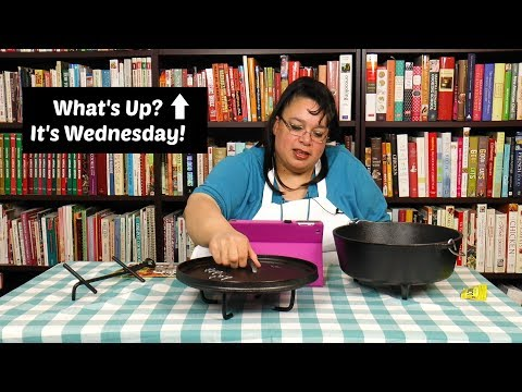 Lodge Cast Iron Dutch Oven ~ Camp Cooking Gear Essentials ~ What's Up Wednesday ~ Amy Learns To Cook
