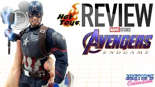 Hot Toys Captain America Avengers Endgame D23 Expo Review