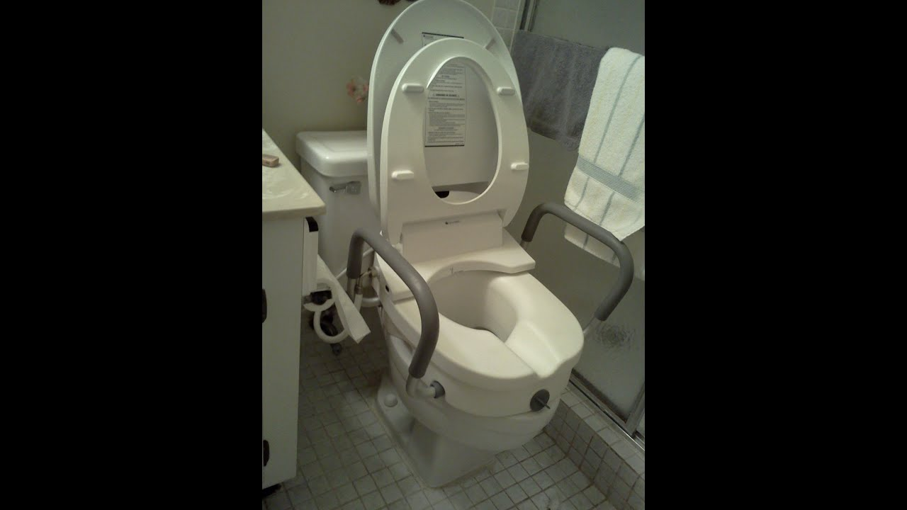 handicap potty chair height adjustment bidet toilet seat by brondell installed with roscoe raised