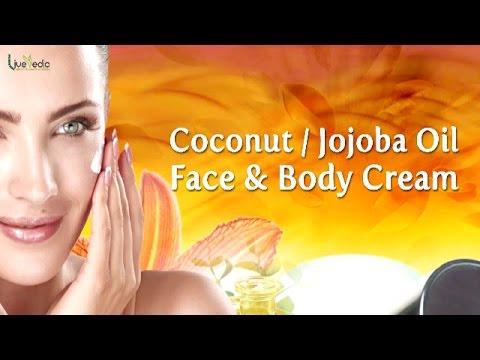 Diy Coconut Jojoba Oil Face Body Cream  Beauty Tips For Glowing Skin