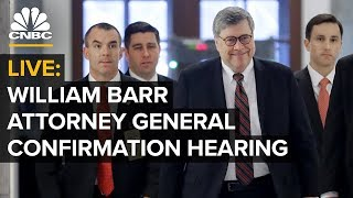 LIVE: Attorney General William Barr confirmation hearing – Jan. 15, 2019