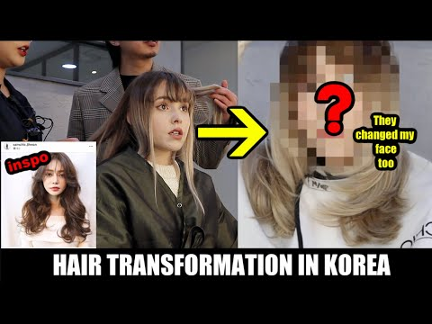 I Let A Top Hair Salon In Korea Do Whatever They Wanted To My Hair