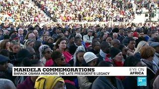 Mandela commemorations: Barack Obama honours Madiba