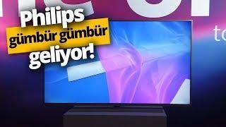 Yepyeni Philips Akıllı TV'ler gümbür gümbür geliyor!