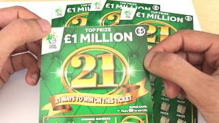 New Scratchcards From The National Lottery *FIRST LOOK*