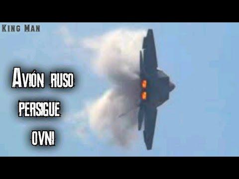Avión de combate Ruso persigue OVNI que se desplaza a gran velocidad