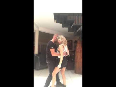 kizomba ( number one boy teddy  feat ) danse improvisation (plantegenet virginie)