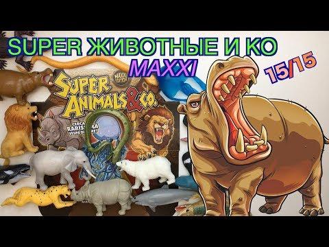 Super Звери и Ко Макси (от Де Агостини, 2019), распаковка, видео-обзор (Супер звери &Ко Макси)