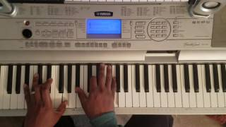 "Chris Brown ""This Christmas"" Easy Piano Chords"