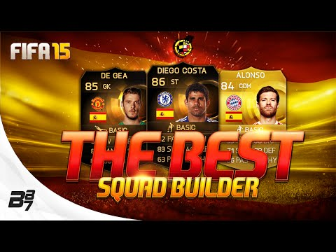 THE BEST! SPAIN SQUAD BUILDER w/ IF DIEGO COSTA | FIFA 15 Ultimate Team
