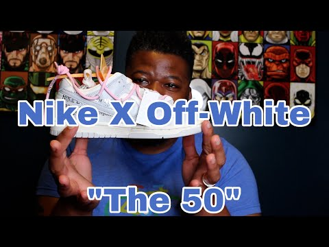 """Nike X Off-White """"The 50"""" Dunk Low Review!"""