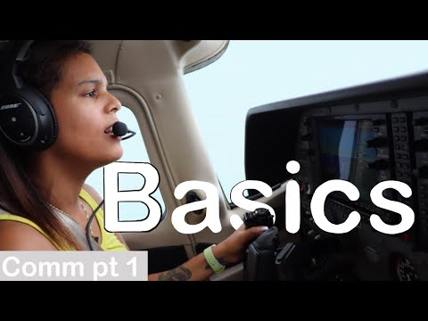 Pilot Radio Communication Basic Examples