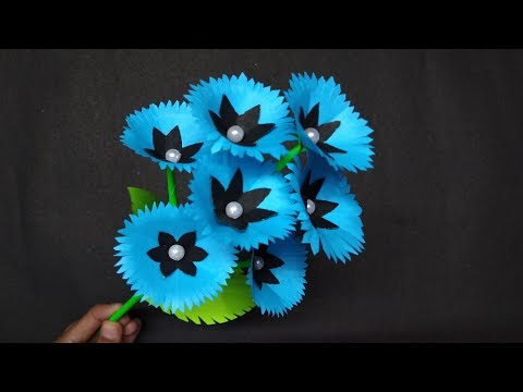 Paper stick Flower | How to make  Beautiful & Awesome flower | DIY Crafts