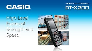 Casio dt-x200 handheld terminal http://www.irc.com.my/products/handheld-terminals/dt-x200/ for further info & pricing on terminal, cash registers or...