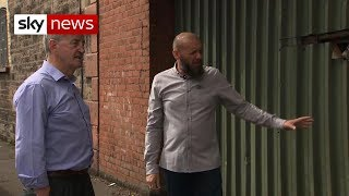 Northern Ireland: Former enemies come face to face
