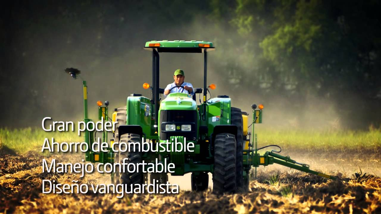 John Deere Mexico Tractores Serie 6d