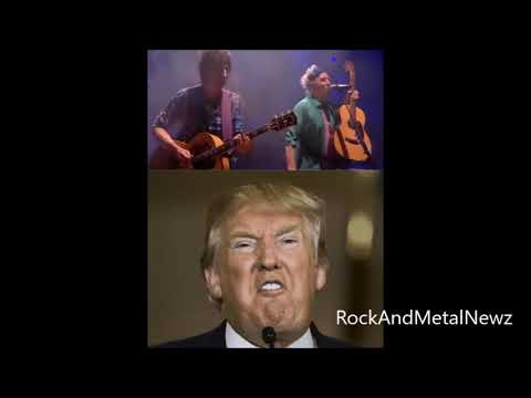 THE ROLLING STONES threaten legal action against Donald Trump for using their music