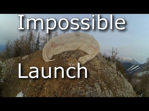 The Impossible Paragliding Launch