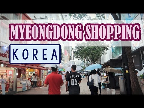 Shopping in Myeongdong, Karaoke & Korean - Style work makeup