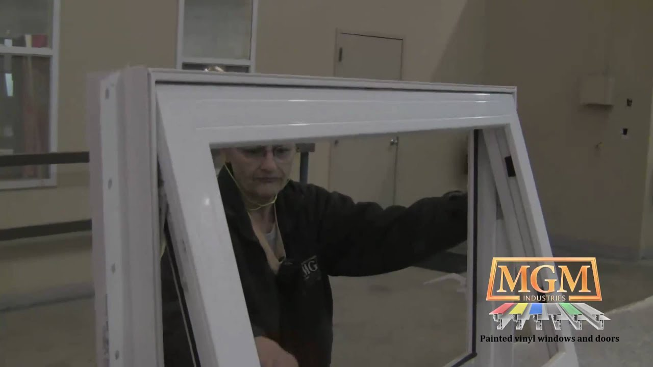 Vinyl Awning Window Series 4710