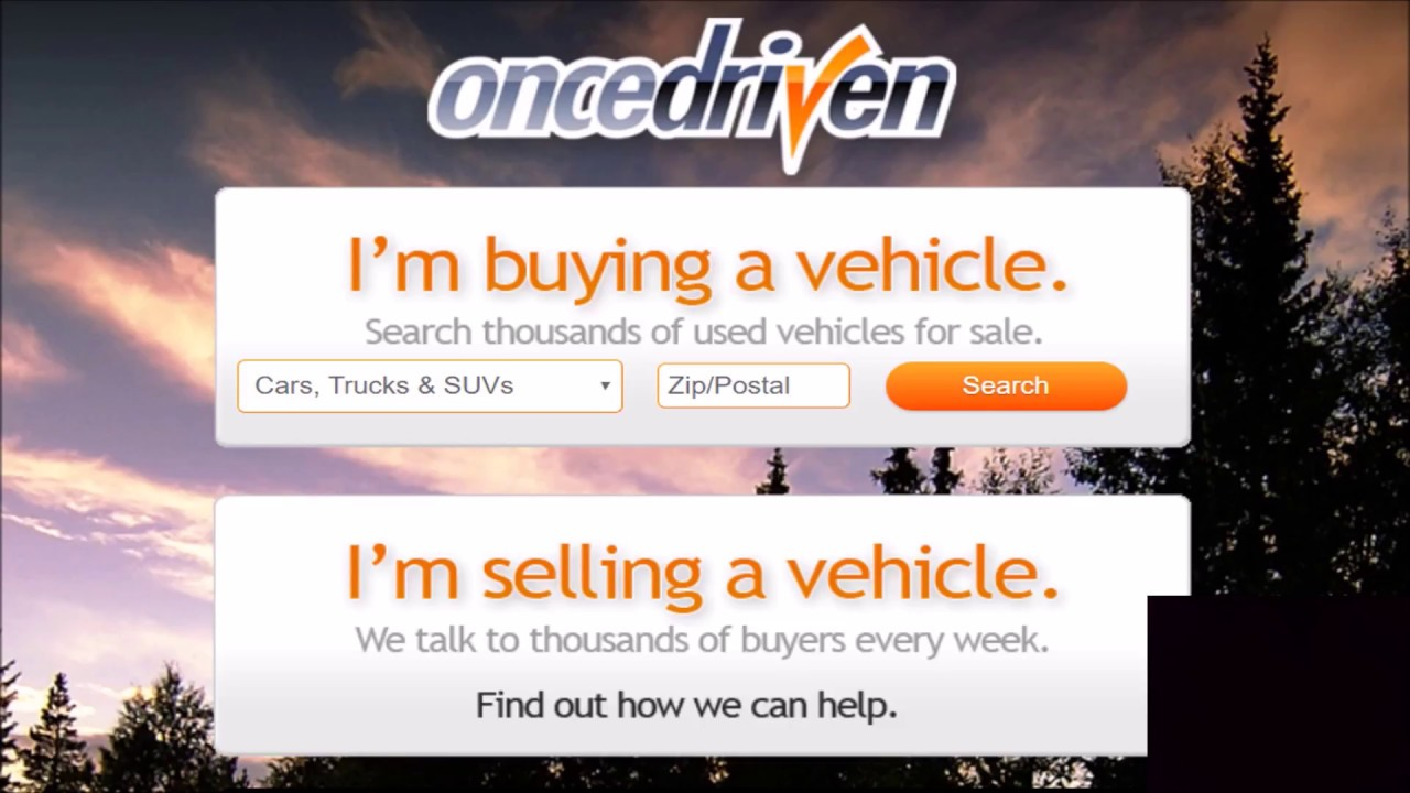 Once Driven Auto Selling And Buying Website Is It A Scam Oncedriven