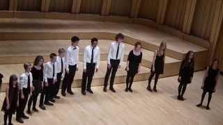 Cathedral School Llandaff House Singing 2014 - Dyfrig House Acapella
