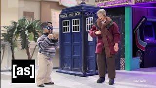 Doctor Who Meets The Nerd | Robot Chicken | Adult Swim