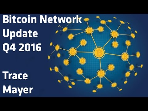 """Bitcoin Network Update Q4 2016"" - Trace Mayer"