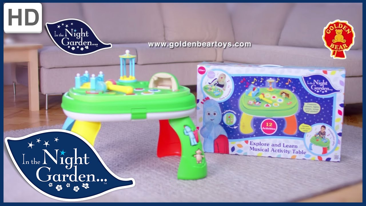 In The Night Garden Musical Activity Table Music Mode Sponsored