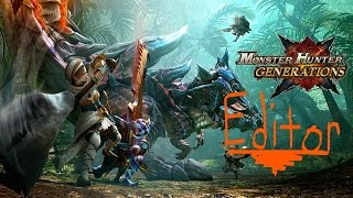 How to edit talismans in Monster Hunter Gen (PATCHED) by M3OW!