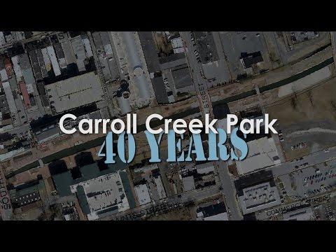 Carroll Creek Park: 40 years