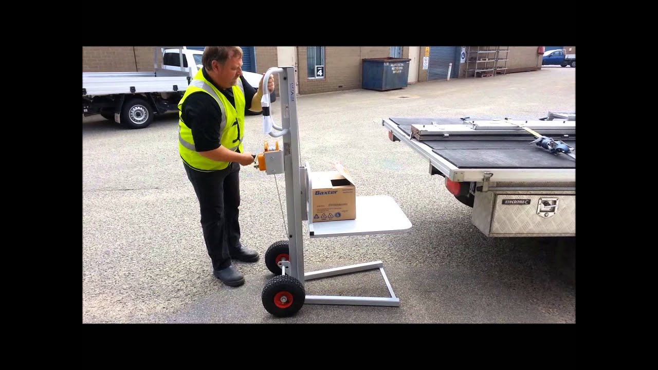 Liftaide Lifting Hand Truck Youtube