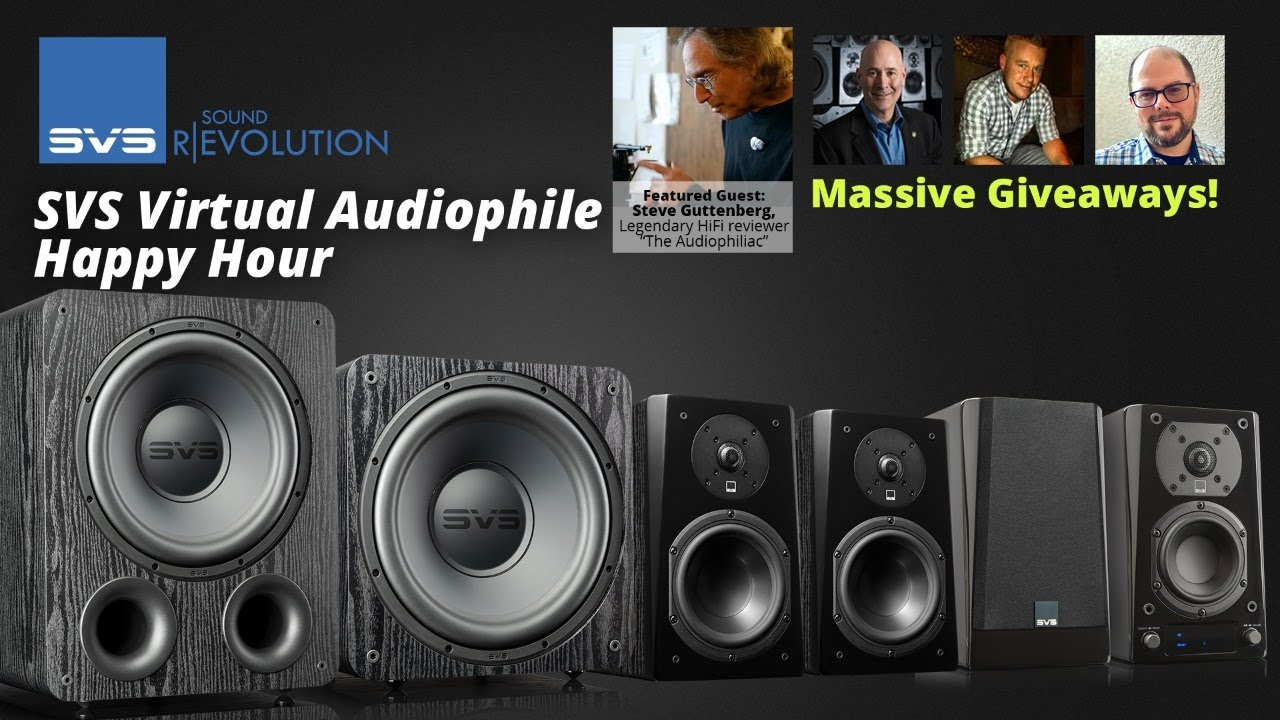 """Download SVS Audiophile Happy Hour with """"The Audiophiliac"""""""