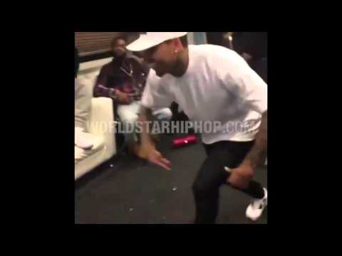 Chris Brown & Mike Epps Crip Walk Battle!