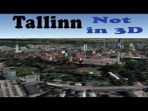 Tallinn is back but not 3D in Google Maps.