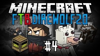 minecraft ftb direwolf20 pack 4 ماينكرافت اف تي بي مزرعة البقر