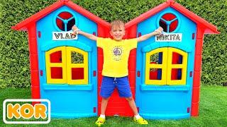장난감 블라드와 니키 놀이와 재미를   아이들을위한 컬렉션 비디오