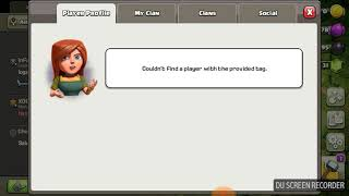 Banned in clash of clans for nothing.