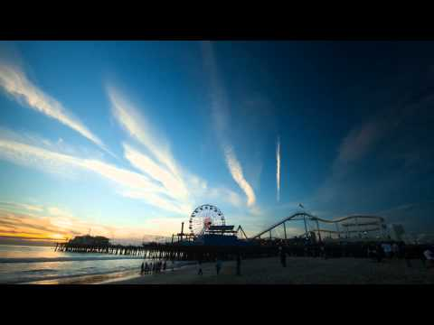 Timelapse Los Angeles / Santa Monica Beach California